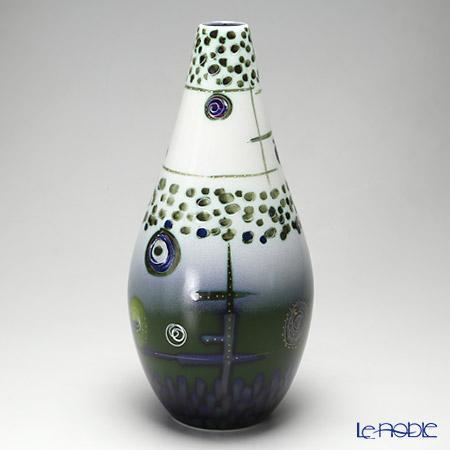 アニタ・ハリス Anita Harris Art Pottery トライアルズ ペアドロップ ベース 38cm【楽ギフ_包装選択】 花瓶 おしゃれ フラワーベース