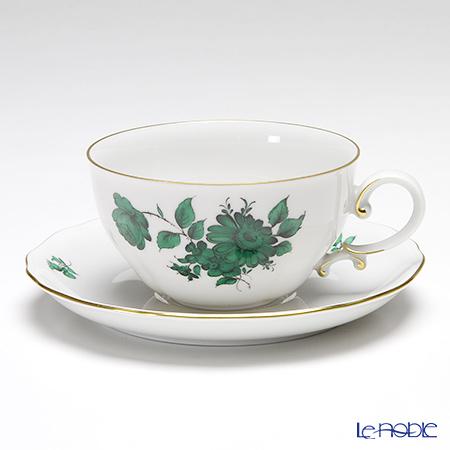 アウガルテン (AUGARTEN) マリアテレジア(5098B) ヒナギク ティーカップ&ソーサー 0.25L(062) おしゃれ かわいい 食器 ブランド 結婚祝い 内祝い