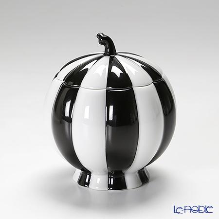 アウガルテン (AUGARTEN) メロン ブラック&ホワイト(7027) シュガー 0.25L(015)【楽ギフ_包装選択】 食器 おしゃれ ブランド