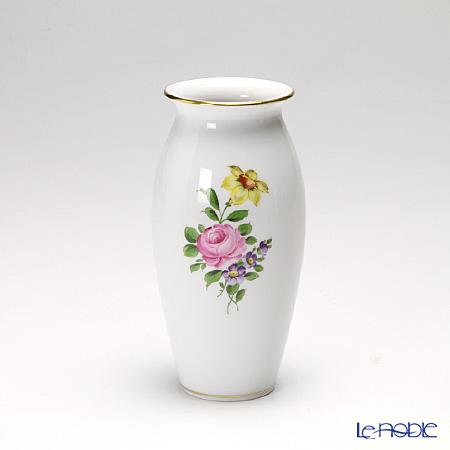 アウガルテン (AUGARTEN) シンプルブーケ(5052C) ピンクのバラ ベース 15cm(536)【楽ギフ_包装選択】 花瓶 フラワーベース おしゃれ ギフト