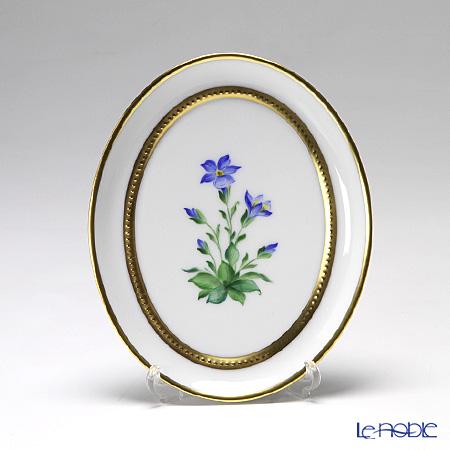 アウガルテン (AUGARTEN) メドウフラワーズ(6314E) リンドウ スモールディッシュ(飾り皿) 12cm(841)