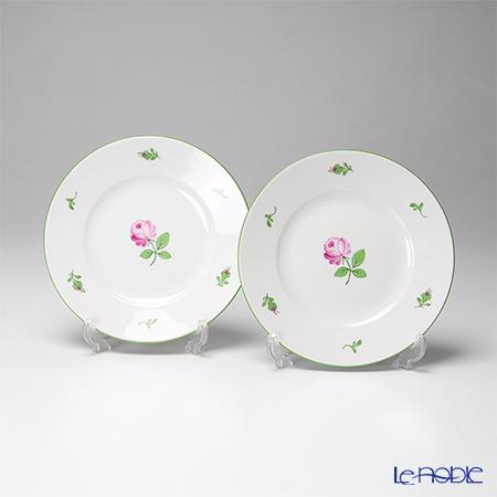 アウガルテン (AUGARTEN) ウィンナーローズ(5089) BBプレート 16cm ペア(001) 皿 お皿 食器 ブランド 結婚祝い 内祝い