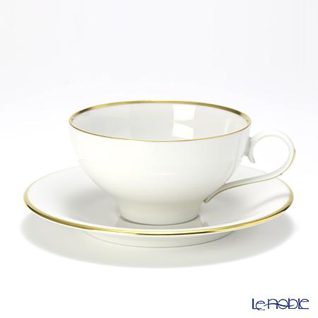 アウガルテン (AUGARTEN) エナゴールドリム(5625) コーヒーカップ&ソーサー 0.2L(021) コーヒ―カップ おしゃれ かわいい 食器 ブランド 結婚祝い 内祝い