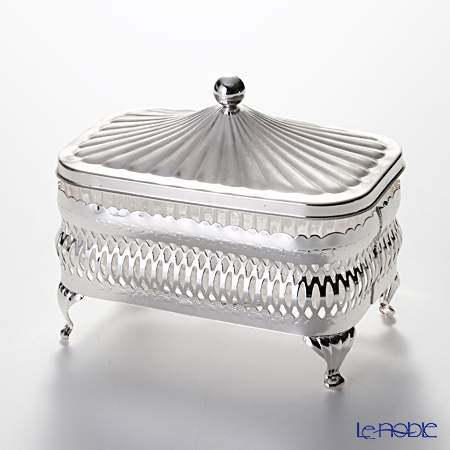 QUEEN ANNE (silver plated made in England) of long butter dish with lid 0 / 4904  sc 1 st  Rakuten & le-noble | Rakuten Global Market: QUEEN ANNE (silver plated made in ...