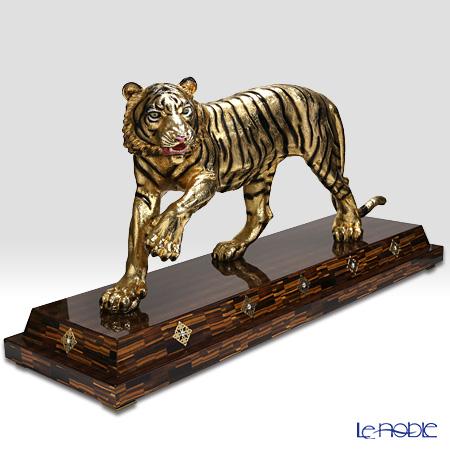 Gold Line SRL オブジェ リミテッドエディション タイガー マキシゴールド 置物 インテリア