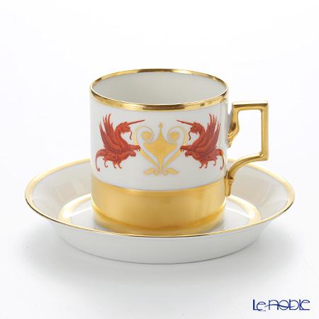 アウガルテン (AUGARTEN) グロリエット(6777) コーヒーカップ&ソーサー(098)【楽ギフ_包装選択】 コーヒ―カップ 食器 おしゃれ ブランド