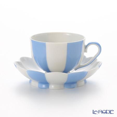 アウガルテン (AUGARTEN) メロン ライトブルー&ホワイト(7022) モカカップ&ソーサー 0.05L(015)【楽ギフ_包装選択】 食器 おしゃれ ブランド