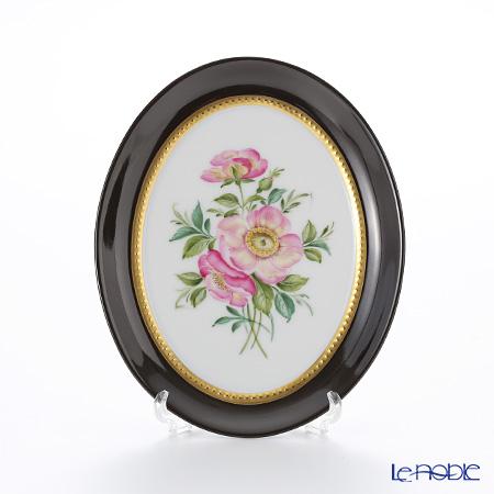 アウガルテン (AUGARTEN) アウガルテンブーケ(6682B) 野バラ スモールディッシュ(飾り皿) 12cm(841)