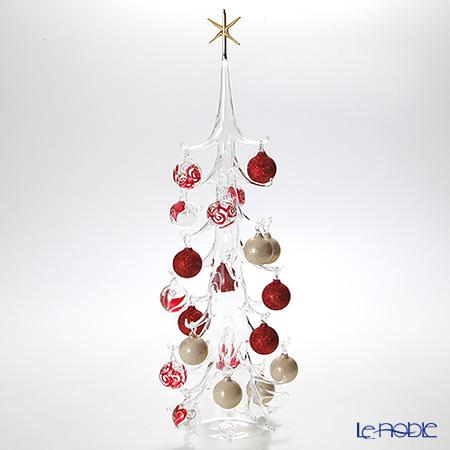 パリーゼ クリスマスツリー XL 68cm N/0(154) レッド&ホワイト【楽ギフ_包装選択】 置物 オブジェ インテリア
