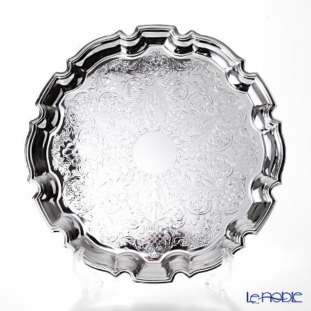女王安QUEEN ANNE(英国制造镀银)chippenderutorei L 31.5cm 0/6180