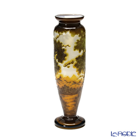 (ガレタイプ) ベース 景色文 山 V27.08【楽ギフ_包装選択】 花瓶 おしゃれ フラワーベース