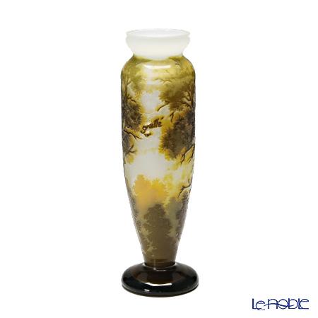 (ガレタイプ) ベース 景色文 森 V27.08 花瓶 フラワーベース おしゃれ ギフト