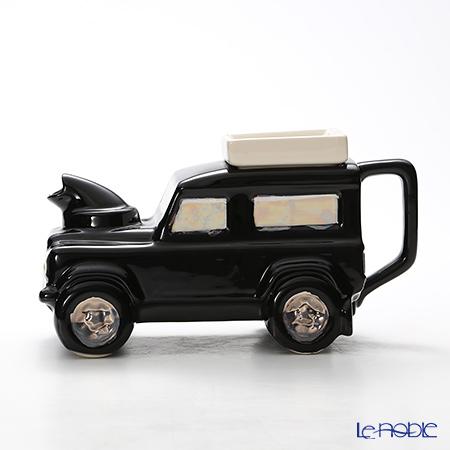 ティーポッタリー Teapottery ランドローバー(ブラック) 14.5×19.5 S【楽ギフ_包装選択】