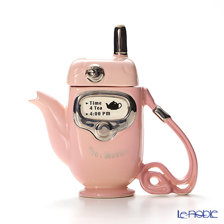 ティーポッタリー Teapottery モバイルフォン(ピンク) 18×17【楽ギフ_包装選択】