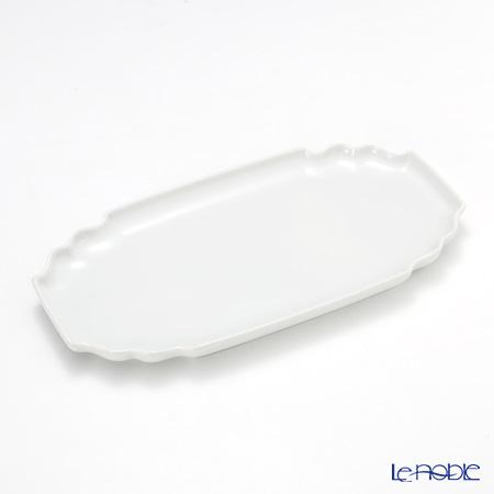 アウガルテン (AUGARTEN) ホワイト(1000) サンドイッチトレイ 25×14cm(746)【楽ギフ_包装選択】 プレート 皿 食器 おしゃれ ブランド