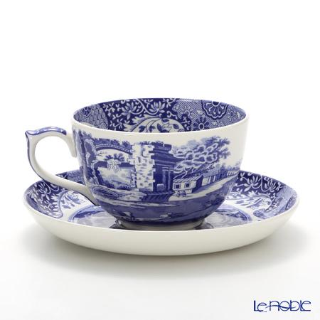 Spode Blue Italian Jumbo Cup Saucer