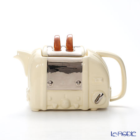 ティーポッタリー Teapottery レトロトースター(クリーム) M【楽ギフ_包装選択】