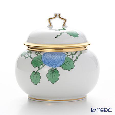 アウガルテン (AUGARTEN) ハイドランジア(アジサイ)(6703) シュガー 0.25L(114ヴェルヴェデーレシェイプ) ハイドランジェア 食器 ブランド 結婚祝い 内祝い