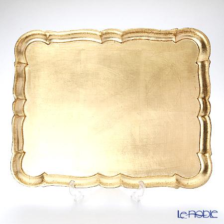 フィレンツェトレイ 長方形 3046/5 ゴールド 46.5×37.5cm キッチン 用品 雑貨 調理