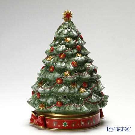 ビレロイ&ボッホ(Villeroy&Boch) トイズデライト クリスマスツリー 33cm 8585-6885 (オルゴール付キャンドルホルダー)