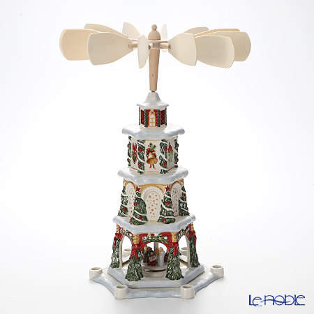 Christmas Pyramid.ビレロイ ボッホ Villeroy Boch Christmas Toys Memory Christmas Pyramid Candle Holder Sectional 5843