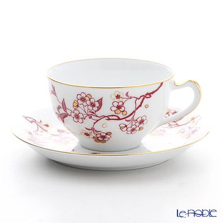 大倉陶園 祝い桜 碗皿 1C/A682-4【楽ギフ_包装選択】 ティーカップ 食器 おしゃれ ブランド