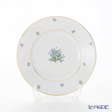 アウガルテン (AUGARTEN) 忘れな草(6690) BBプレート 16cm(001シューベルトシェイプ) 忘れな草(FORGET-ME-NOT) 皿 お皿 食器 ブランド 結婚祝い 内祝い