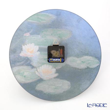 Goebel (GOEBEL) Monet water lily 67021568 glass clock 30cm