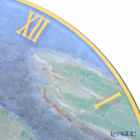 geberu(GOEBEL)mone睡莲67021568玻璃钟表30cm
