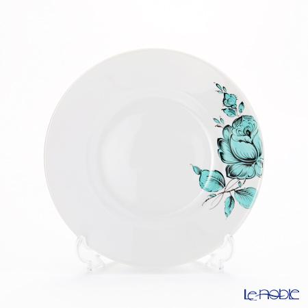 アウガルテン (AUGARTEN) マリアテレジア2.0 ターコイズ(7998) BBプレート 16cm(001シューベルトシェイプ) 皿 お皿 食器 ブランド 結婚祝い 内祝い