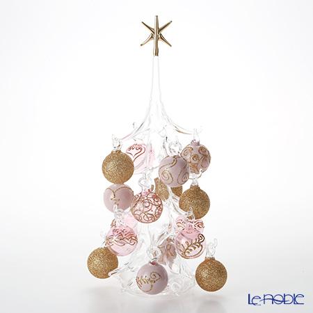パリーゼ 置物 オブジェ 32cm インテリア NN/2/1(261) ピンクゴールド L クリスマスツリー