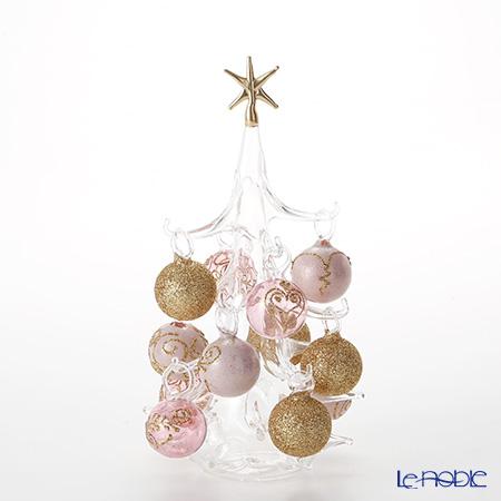 パリーゼ クリスマスツリー M 22cm NN/4/1(261) ピンクゴールド 置物 オブジェ インテリア
