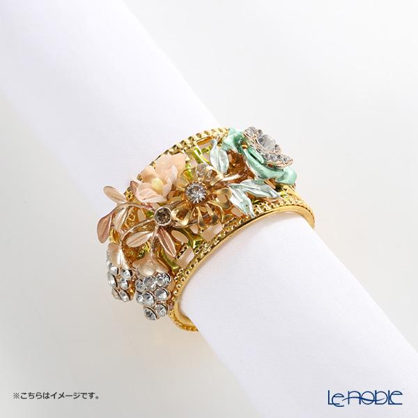Thomas Goode(Cadogan Crowns) ナプキンリング フラワーカラー C【楽ギフ_包装選択】