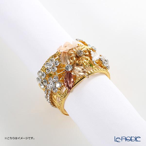 Thomas Goode(Cadogan Crowns) ナプキンリング フラワーカラー H【楽ギフ_包装選択】