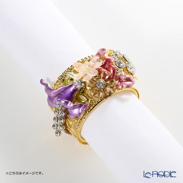 Thomas Goode(Cadogan Crowns) ナプキンリング フラワーカラー I【楽ギフ_包装選択】