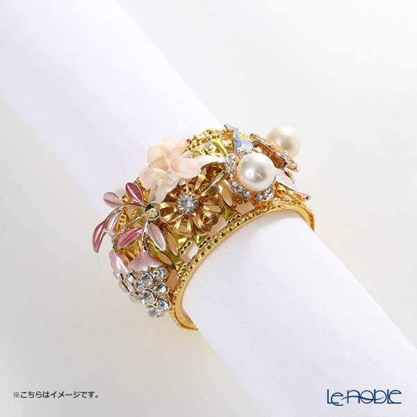 Thomas Goode(Cadogan Crowns) ナプキンリング フラワーカラー K【楽ギフ_包装選択】