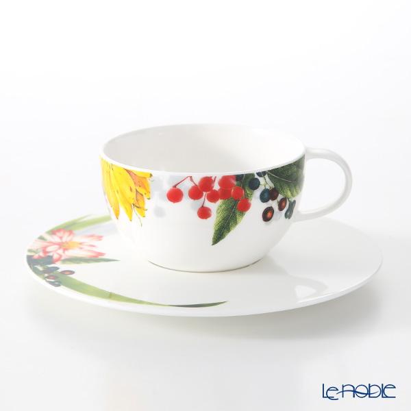 ローゼンタール Les Fruits du Jardin フルーツガーデン ティーカップ&ソーサー 250ml おしゃれ かわいい 食器 ブランド 結婚祝い 内祝い