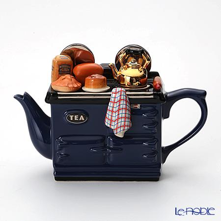 ティーポッタリー Teapottery ベイキングデイ AGA(ブルー) L【楽ギフ_包装選択】