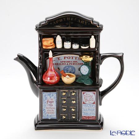 ティーポッタリー Teapottery ドラッグストア(ブラウン) L【楽ギフ_包装選択】