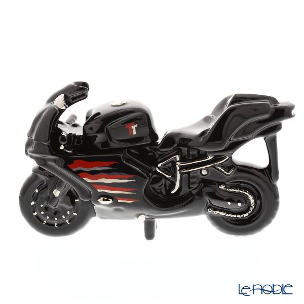 ティーポッタリー Teapottery モーターバイク(ブラック) L【楽ギフ_包装選択】