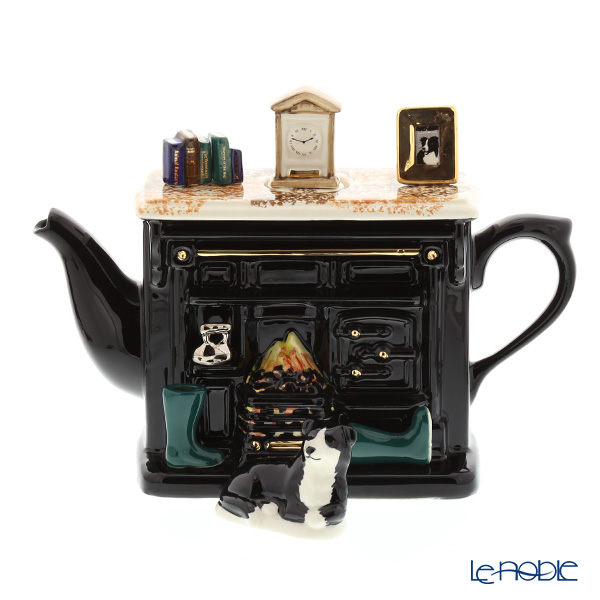 ティーポッタリー Teapottery ヨークシャーレンジ(ブラック) 23×31 L【楽ギフ_包装選択】