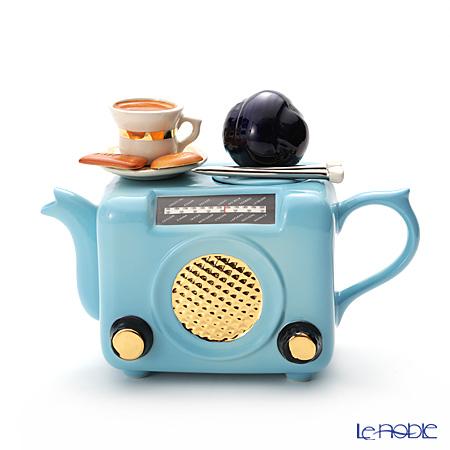 ティーポッタリー Teapottery ラジオ(ブルー) M【楽ギフ_包装選択】