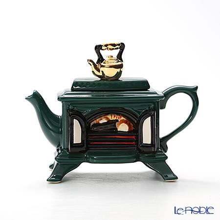 ティーポッタリー Teapottery ストーブ(グリーン) 13×19 S【楽ギフ_包装選択】 新生活 キッチン 用品 雑貨 調理