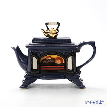 ティーポッタリー Teapottery ストーブ(ブルー) 13×19 S【楽ギフ_包装選択】 新生活 キッチン 用品 雑貨 調理