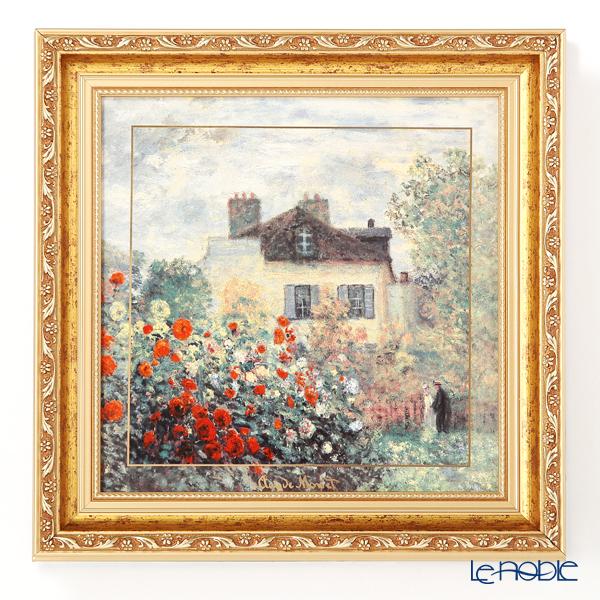 ゲーベル(GOEBEL) モネ アーティストハウス 66518321 陶板 額付 31.5×31.5cm