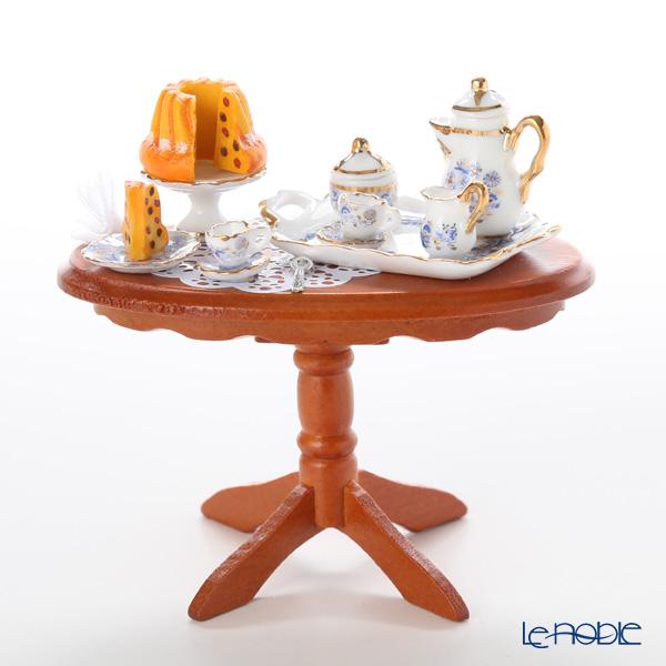ロイター・ポーセリン コーヒー クラッチ (茶話会) 001.822/1 ミニチュア テーブルセット 置物 オブジェ インテリア