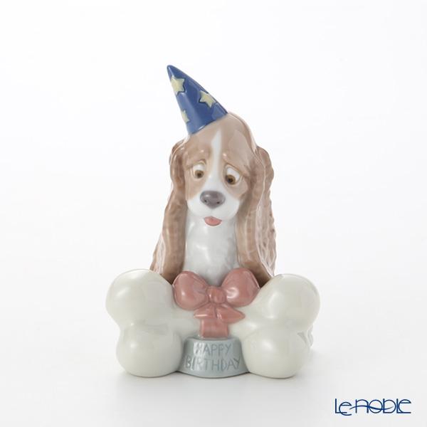 NAO ナオ HAPPY BIRTHDAY! 02001730(H13x9cm)【楽ギフ_包装選択】 フィギュリン 置物 オブジェ インテリア