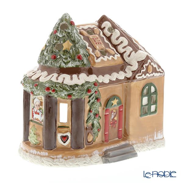 ビレロイ&ボッホ(Villeroy&Boch) ノースポールエクスプレス ジンジャーブレッドハウス 6538 キャンドルホルダー【楽ギフ_包装選択】 クリスマス