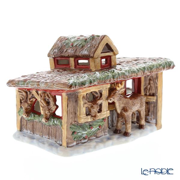 ビレロイ&ボッホ(Villeroy&Boch) ノースポールエクスプレス レインディアハウス 6539 キャンドルホルダー【楽ギフ_包装選択】 クリスマス