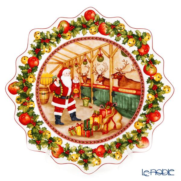 ビレロイ&ボッホ(Villeroy&Boch) トイズファンタジー ラウンドプレート 42cm 2247 クリスマス 皿 お皿 食器 ブランド 結婚祝い 内祝い